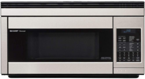 Sharp Over-the-Range Convection R1874T 850W 1.1 Cubic Feet Stainless Steel Microwave
